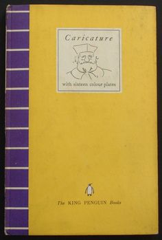 Series No.: K5  Title: CARICATURE  Authors: E. H. Gombrich and E. Kris Date Published: Printed 1940, listed as published in February 1941   Binding: This book was produced in two versions - the usual hardback, and a soft cover.