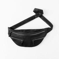 Zipper bum bag