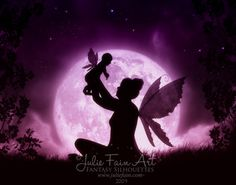 Little Blessing-baby,cute,fairy,faery,fantasy,pixie,mother,child,newborn,wings,purple,pink