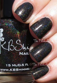 Black with rainbow holo!