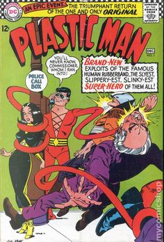 Plastic Man (1966 1st Series DC) 1