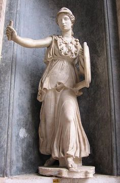Athena in the Vatican.