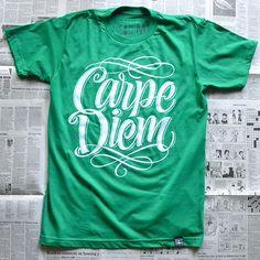T-shirt printing & Design inspiration: #TshirtTuesday Week 2, typographic t-shirts, t-shirt design inspiration, t-shirt printing London, t-s...