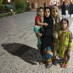 Children, Shazdeh Mahan Garden, Mahan, Kerman, Iran #children #people #shazdeh #mahan #kerman #iran #garden #prince #persian #child #summer #evening #night