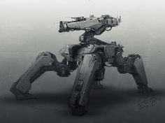 concept robots: High resolution robot images by Galan Pang