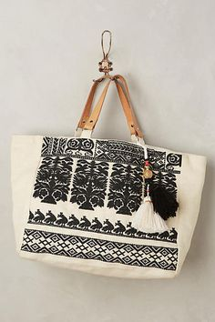 07aee83be9 Star Mela Savanna Embroidered Tote from anthropologie Womens Tote Bags