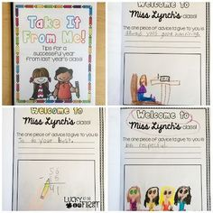 Make Class Books with your primary students!
