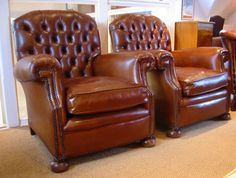Dramatic transformation of pair of Early 20th Cent. chairs