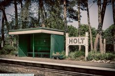 A shelter at Holt Station, North Norfolk Road Trip, England, UK Holt Norfolk, Landscape Photography, Travel Photography, You Are The World, Beach Scenes, Staycation, Outdoor Travel, East Coast, The Great Outdoors