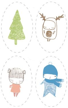 Free printable gift tags - so cute http://www.kittygenius.com/kitty_genius/2006/12/a_gift_from_me_.html