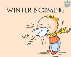 Aaa-choo!! Winter is Coming! And along with it bringing many of its aggravating illnesses as well. The risk of catching infectious diseases of the winter can be greatly reduced by getting immunized and maintaining good hygiene. Stay tuned to #IndiaMedicalHub to know more such health tips. #WinterIsComing #HealthTips