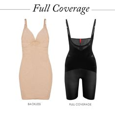 Full Coverage For a bodycon cocktail dress or tight satin gown, a one piece bodysuit will smooth the fabric so you look polished from all angles Bras For Backless Dresses, Tight Dresses, Full Body Spanx, Bodycon Cocktail Dress, Bodycon Dress, Chic Outfits, Fashion Outfits, Shape Wear, Red Carpet Ready