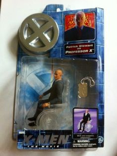 Mouse over image to zoom Have one to sell? Sell it yourself X-Men Professor X Gray Suit Clear Wheelchair X Men, Professor, Suit, Things To Sell, Gray, Image, Teacher, Grey, Formal Suits