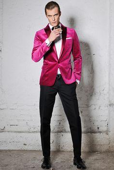 Classy pink suit