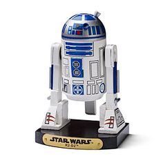 Okay, it's a bit early for nutcrackers, but come on, it's an R2-D2 Nutcracker! #awesome #starwars