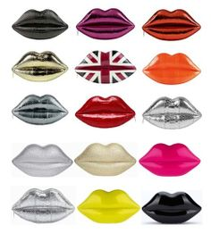 i heart lulu guiness lips clutch purse-tastic!x