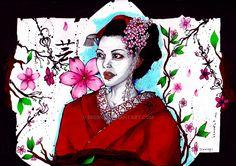 Geisha by eREIina