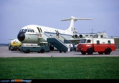 RAF Vickers VC10-C1 XR806 Transport Command in 1969 - The Vickers VC-10 a British airliner designed to operate on long distance international routes. The primary operator was BOAC. Many were later converted and remain in service today as aerial refuelling and transport aircraft for the RAF