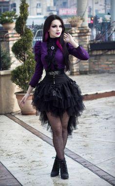 Model: Milena Grbović (http://villenaviscaria.blogspot.rs/) Outfit: Villena Viscaria Clothing Jewelry: Sardonyx Lace