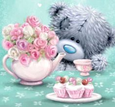 ♥ Tatty Teddy ♥ Tatty Teddy, Hug Pictures, Teddy Bear Pictures, Teedy Bear, Hugs And Kisses Quotes, Teddy Bear Quotes, Cute Good Morning Quotes, Blue Nose Friends, Bear Graphic