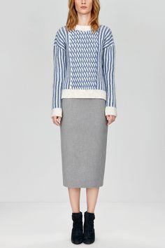 PATTY - Twisted knit sweater by Nanushka Store
