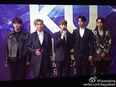 160329 SHINee - KU Asia Music Awards in Guangzhou