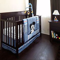 Mickey Mouse Nursery Collection Oh how I want this if Baby Dennis is a boy