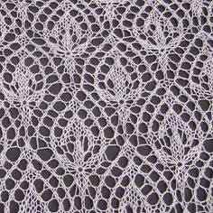 "Pattern is available as a free Ravelry download. This is variation on one of the most famous and beautiful motifs for Haapsalu shawls ""Waterlily"". The pattern is designed for knitting of lace shawls. ----- user has a bunch of other Estonian patterns"