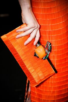 orange.quenalbertini: Orange fashion, details | CoCo is Haute