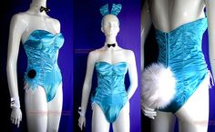Bunny Suit Costume Bodice S 34 Retro by DynamiteJetBoutique