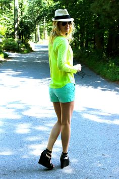 shades of green on confessionsoftheglitterati.com
