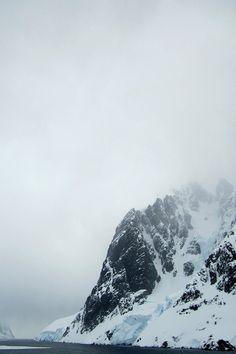 Misty Mountain Snow