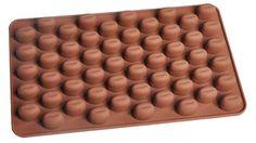Silicone mold to 55 Cavity Mini Coffee Beans by CuciCuciCheTiPassa