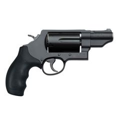 "Introducing the S&W GOVERNOR® New. Versatile. Lightweight. The Smith & Wesson Governor revolver puts six rounds of customizable response under your control. Load with .410 2 1/2"" shotshells, .45 ACP or .45 Colt - alone or in combination with the included moon clips* - and hit your target in every situation. $870.00"
