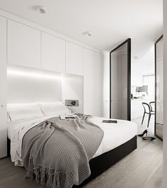 Minimal Style, Small Apartments, Bed Room, Apartment Ideas, Ikea Storage,  Master Bedrooms, Bedroom Ideas, Haus, Dorm