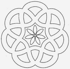 Designs to print simple mandalas simple mandala coloring pages pour Mandala Design, Mandala Pattern, Mandala Art, Mandala Drawing, Flower Mandala, Stained Glass Patterns, Mosaic Patterns, Embroidery Patterns, Mandala Coloring Pages