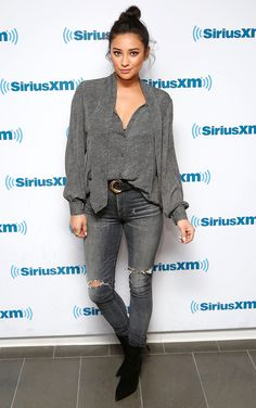 """SHAY MITCHELL'S SKINNIES: Citizens of Humanity """"Carlie"""" jeans, $278"""