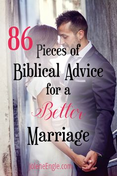 relationships - 86 Pieces of Biblical Advice for a Better Marriage Jolene Engle Marriage Goals, Marriage Relationship, Marriage Tips, Happy Marriage, Love And Marriage, Strong Marriage, Marriage Advice Quotes, Relationship Building, Successful Marriage