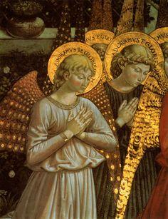 1459 Benozzo Gozzoli Angels