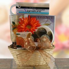 Head to Toe  Spa Gift Basket  Price: $69.95