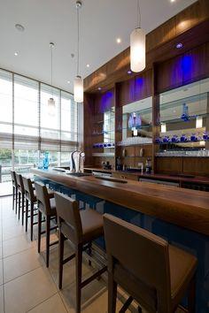 Modern Hotel | Radisson Blu Hotel interior design by Ward Robinson | Durham | Bar