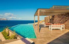 Luxury Holiday Villa Searock, with Infinity Pool and Private Beach Villas, Private Bay, Outdoor Dining, Outdoor Decor, Luxury Holidays, Greek Islands, Crete, Luxury Villa, Infinity