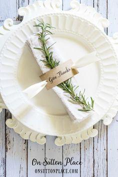 thanksgiving give thanks napkin holder printable