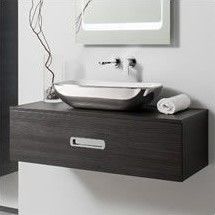 Bauhaus Seattle 800mm Anthracite Wall Hung Vanity Unit   Main Image