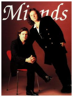 Jim Kerr and Charlie Burchill Jim Kerr, The Power Of Music, Simple Minds, Pop Rocks, Feeling Happy, Music Artists, Rock And Roll, Musicals, Mindfulness