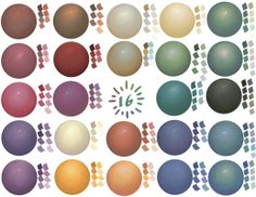 Coloured balls by NoNoKoHime