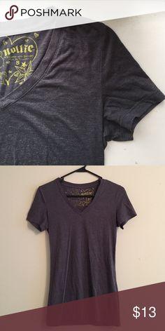 Grey Nollie T Dark grey slim fit, long nollie t (wrinkles from being folded) Nollie Tops Tees - Short Sleeve