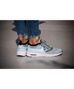 2c3ce35071ab Air Max Thea Ultra Flyknit Glacier Blue White Black Womens