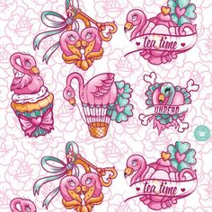 """Tea time"" Alice flash. Butterfly Tattoo Meaning, Butterfly Tattoo Designs, Tattoo Designs For Women, Alice In Wonderland Clipart, Skull Girl Tattoo, Kawaii Tattoo, Unicorns And Mermaids, Traditional Tattoo, Neo Traditional"