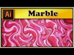 Marble texture - Adobe Illustrator tutorial - YouTube